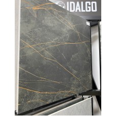 Idalgo Granite Sandra, 1200х600 мм, черный мрамор