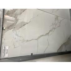 WHITEY VEINED, белый полированный, под мрамор,  600х1200 мм, Индия